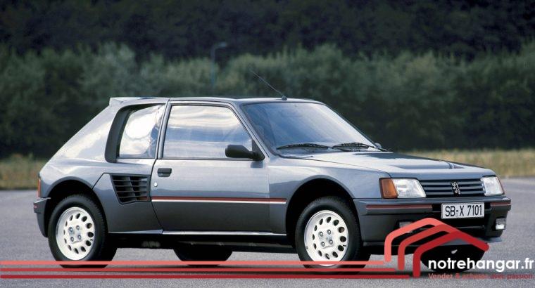 Peugeot 205 Turbo (T16) 1984