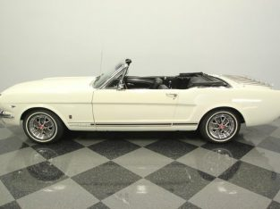 Ford Mustang GT350 1965 Triple Blanche Convertible (Décapotable)